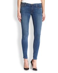 True Religion Halle Super Skinny Jeans blue - Lyst