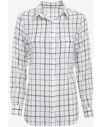 Elizabeth And James Thatcher Tie Back Blouse - Lyst