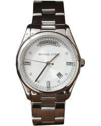 Michael Kors Colette Watch silver - Lyst