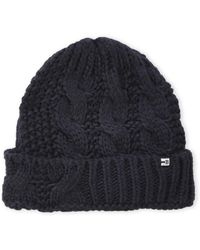 Block Headwear - Cable Knit Cuffed Scully - Lyst