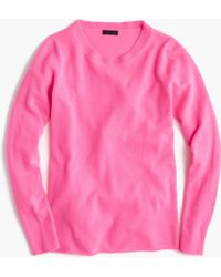 J.Crew | Collection Cashmere Long-sleeve T-shirt | Lyst