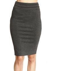 Patrizia Pepe Sheath Dress Jersey Skirt  - Lyst