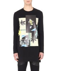 Raf Simons Long-Sleeved A-Line Pullover Sweatshirt - For Men - Lyst