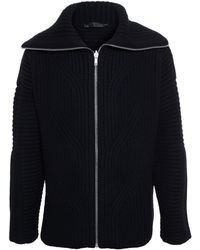 Alexander McQueen Oversized Cable Knit Jumper - Lyst