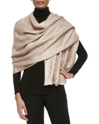 Gucci Julia Shimmery Jacquard Stole - Lyst