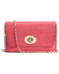 Coach Madison Crossbody Clutch Wallet in Leather - Lyst