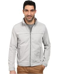 Calvin Klein Poly Twill Jacket gray - Lyst
