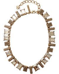 Oscar de la Renta Colorway Shadow Necklace - Lyst