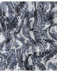 Pierre Hardy - Grey Cube Cashmere Scarf - Lyst