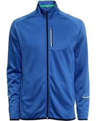 H&M Running Jacket blue - Lyst