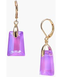 Dabby Reid | 'Kylie' Drop Earrings - Violet | Lyst