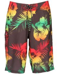 """Reef 20"""" Floral Printed Stretch Boardshorts - Multicolour"""