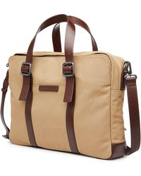 Marc By Marc Jacobs - Cotton Bag With Leather - Brown - Lyst