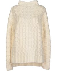 Miu Miu White Turtleneck - Lyst