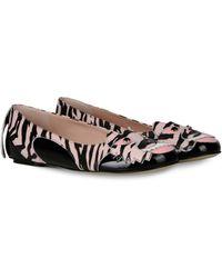 Moschino Ballet Flats - Lyst