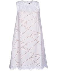 Christopher Kane White Short Dress - Lyst