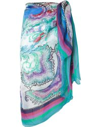Gottex Multicolor Dragonfly Pareo - Lyst