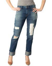 Dittos Asher Vintage Destroyed Boyfriend Jeans - Lyst
