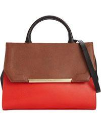 Calvin Klein Red Claudia Shopper - Lyst