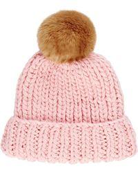 Barneys New York | Rib-knit Beanie | Lyst