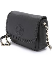 Tory Burch Marion Mini Bag - Black - Lyst