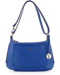 Furla Alida Small Leather Hobo Bag - Lyst