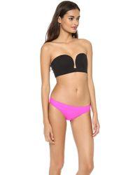 Shakuhachi - Neo Minimal Bustier Bikini Top Black - Lyst
