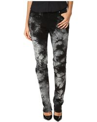 Versace Jeans Tie-Dye Slim Fit Jeans - Lyst