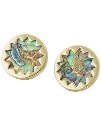 House of Harlow 1960 | Sunburst Button Earrings | Lyst