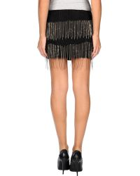 Jay Ahr Mini Skirt - Lyst