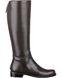 Nine West Contigua Leather Riding Boots - Lyst