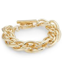 Anne Klein - Out Of The Box Large Link Bracelet - Lyst