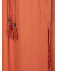 Linea Weekend - Midnight Tassel Maxi Skirt - Lyst