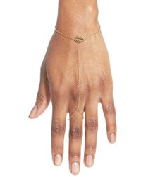 Stella Valle - 'los Angeles Lips' Hand Chain - Lyst