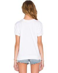 Beach Riot Newport Leisure Fleece Sweatshirt - White