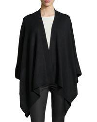 BCBGMAXAZRIA Cashmereblend Runa Knit Wrap - Lyst