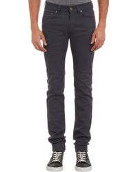 Acne Studios Ace Corona Coated Jeans - Gray - Lyst