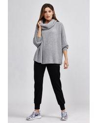 Nesh | Lush Ribbed Neck Sweater | Lyst