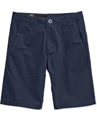 Volcom - Faceted Chino Shorts - Lyst