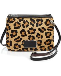 Marc Jacobs Ligero Double Percy Leather Cross-body Bag - Multicolor