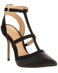 Office Jewel T Bar Point High Heel Stiletto Court Shoes - Lyst