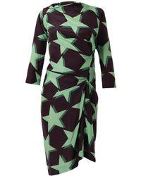 Vivienne Westwood Anglomania Taxa Starprint Dress - Lyst