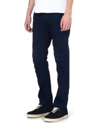Levi's Line 8 511 Slimfit Tapered Jeans Black - Lyst