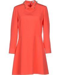 Viktor & Rolf Short Dress pink - Lyst
