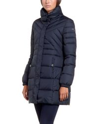 Patrizia Pepe Quilted Jacket with Real Down with Cowl Neck - Lyst