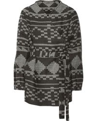 Matthew Williamson Jacquard Coat - Lyst