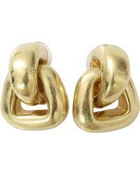 Vaubel - Small Doorknocker Clip Earrings - Lyst