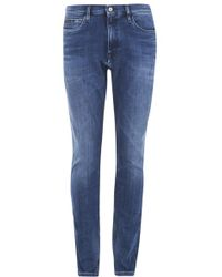 Calvin Klein - Men's Tapered Fit Jeans Mid - Lyst