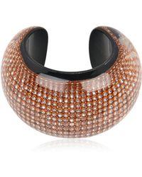 Nicholas King Diamante Bracelet - Metallic