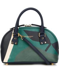 Burberry Prorsum - Bloomsbury Orchard-Print Small Bowling Bag - Lyst